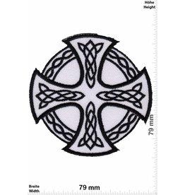 Celtic Kelten Kreuz - weiss