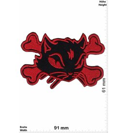 Pirat Pirate Cat - red