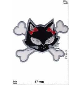 Pirat Pirate Cat - black white