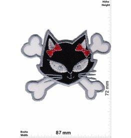 Pirat Pirate Cat - schwarz weiss
