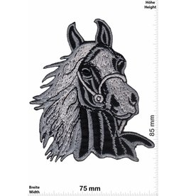 Pferd Horsehead - Horse - black