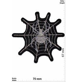 Spider Spinne Spinnennetz silber