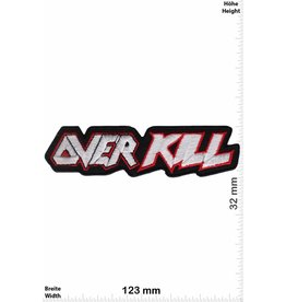 Overkill Overkill  - silver- Thrash Metal Band