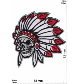 Indianer Indiansskull - Chief -  Skull - small