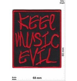 Keel Music Evil Keel Music Evil