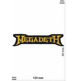 Megadeth Megadeth - gold - small