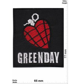 Green Day Green Day - Heartbomb - black