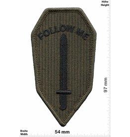 U.S. Army US Army Infantry School - Follow me - HQ