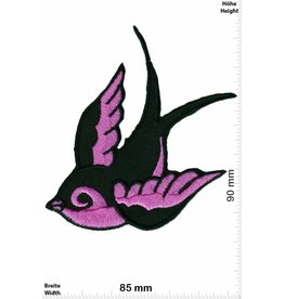 Vogel Patch - Bird right - pink