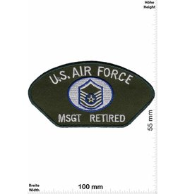 U.S. Air Force U.S. Air Force MSGT Retired