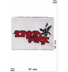 Linkin Park  Linkin Park - white red