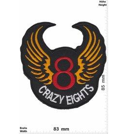 8 Ball Crazy Eights - 8 - mit Flügel