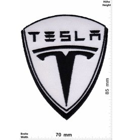 Tesla  Tesla - black white