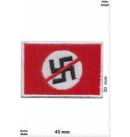 No Nazi 2 Piece ! Flag - No Nazi Flag - small
