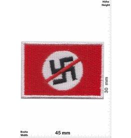 No Nazi 2 Stück ! No Nazi Flagge - klein - 2 Stück