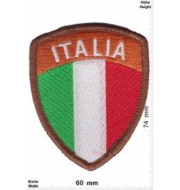 Italien, Italy Italia - coat of arms - brown - HQ