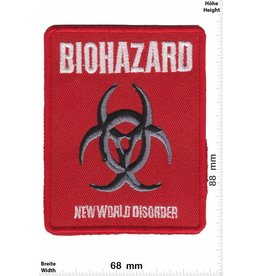 Biohazard Biohazard - New World Disorder -Hardcore Punk Metal