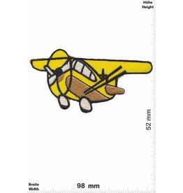 Flugzeug yellow Airplane