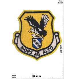 Army MORS AB ALTO - U.S. Air Force's 7th Bomb Wing - HQ