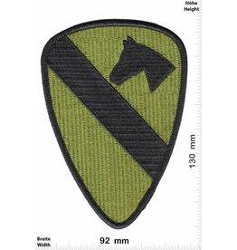 1st Cavalry 1st Cavalry Divison Horse - Pferd Army - green HQ