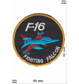F 16 F-16 Fighting Falcon - round