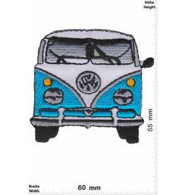 VW,Volkswagen VW Bully - blue - front