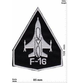 F 16 F-16  black