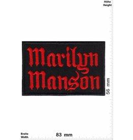 Marilyn Manson Marilyn Manson -red