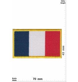 Frankreich, France France - Flag - gold
