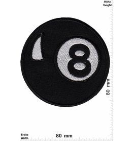 8 Ball Schwarze Acht - big - black eight - Billiard