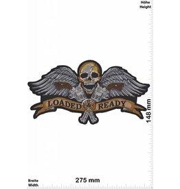 Loaded Ready  Totenkopf -  Loaded Ready - 2 Guns - Skull  - 27 cm - BIG