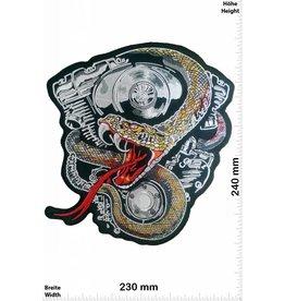 Snake Snake Motor - Bigblock - 24 cm - BIG