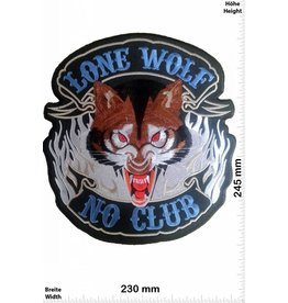 Lone Wolf Lone Wolf - No Club - 24 cm - BIG