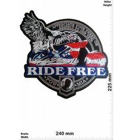 POW / MIA Ride Free - POW MIA - 24 cm - BIG