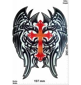Angel Engelsflügel - Flügel - Angel - Kreuz - 26 cm - BIG