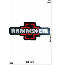 Rammstein Patch -Rammstein - 33 cm - BIG