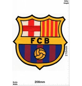FCB Barcelona FCB - FCB Barcelona BIG - HQ 21 cm - Soccer - Spain Spanish Football - Liga Soccer