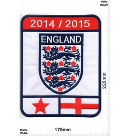 Fussball Soccer - England - 2014 / 2015 - BIG - HQ 22 cm - Scoccer - Soccer - UK Soccer National Team