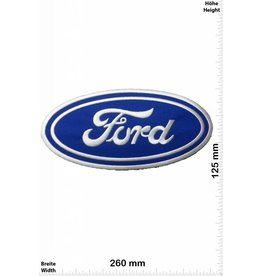 Ford FORD - blau - blau- 26 cm - Bigpatch  - Motorsport