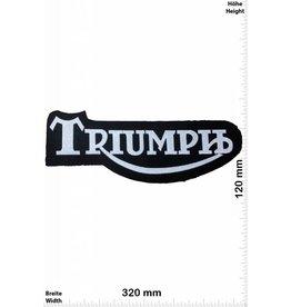 Triumph Triumph -  black silver - 32 cm - Bigpatch  - Motorsport
