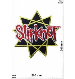 Slipknot Slipknot Pentagramm - 20 cm - BigMusicAlternative Heavy Metal Rockband