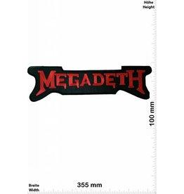 Megadeth Megadeth - 33 cm - BIGPATCH