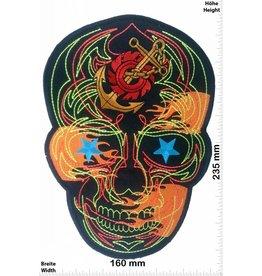 Muerto Totenkopf - Skull - Muerto - schwarz -23 cm - BIG