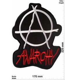 Anarchy Anarchy - 22 cm  - BIGPATCH patch -Sons of Anarchy SOA Reaper