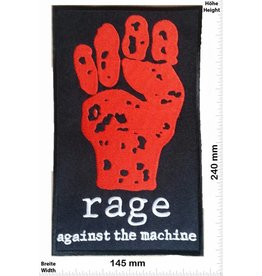 Rage against the machine rage - against the machine - 24 cm - BIG