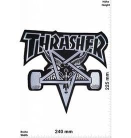 Thrasher Thrasher - black - 24 cm - BIG Skateboard - Skater - Wheels - Skater