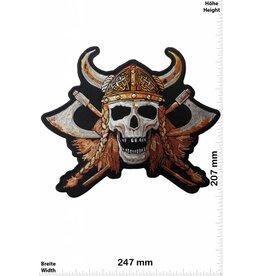 Viking Viking Skull - Wikinger Germane Totenkopf - 24 cm - BIG