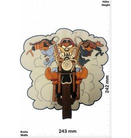 Wolf Wolf Rider - Wolf Biker  - 24 cm - BIG