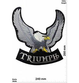 Triumph Triumph - Eagle - Adler - 26 cm - BIGBikerMotorcycle - Motorsport - Classic Cars - Motocross -