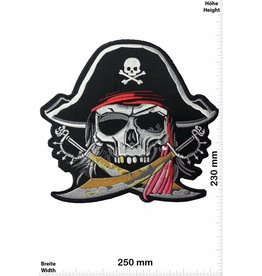 Pirat Pirate Skull - 25 cm - BIG